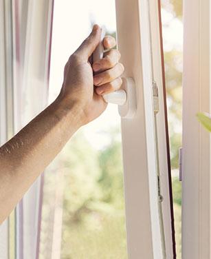Passende Fenstergriffe