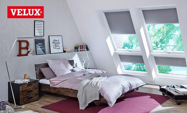 Velux Dachfenster Rollos