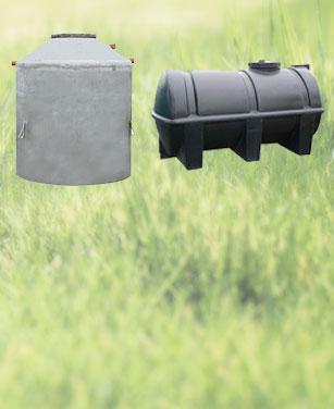 Zisterne - Kunststoff oder Beton?