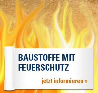 Baustoffe mit Feuerschutz