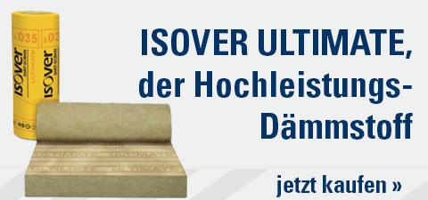ISOVER ULTIMATE der Hochleistungs-Dämmstoff