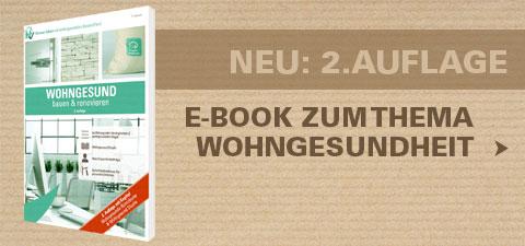 E-Book 2. Auflage: Wohngesund bauen und renovieren