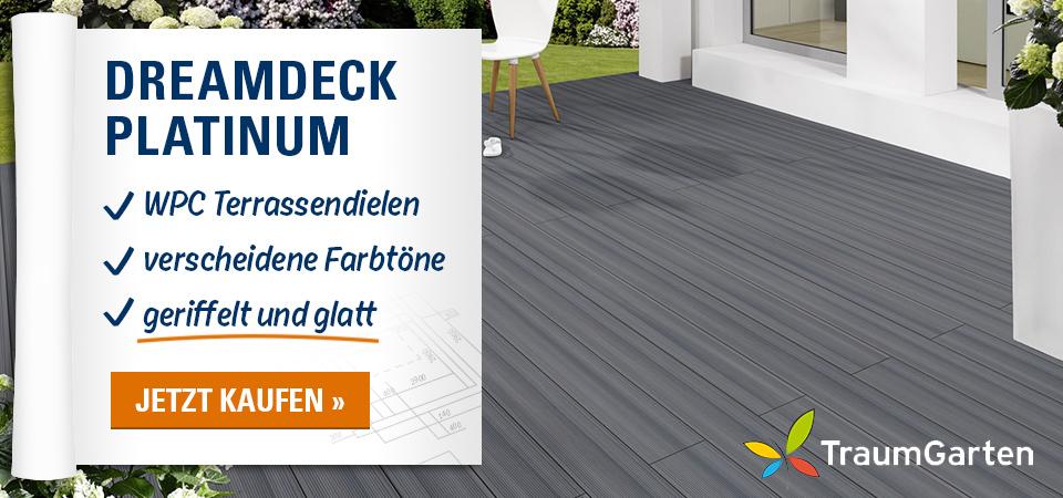TraumGarten WPC Terrassendiele DREAMDECK PLATINUM