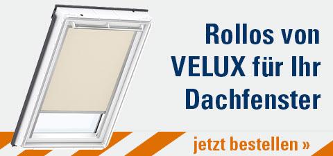 Rollos von Velux für Ihr Dachfenster