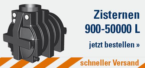 Zisternen 900 - 50000 L