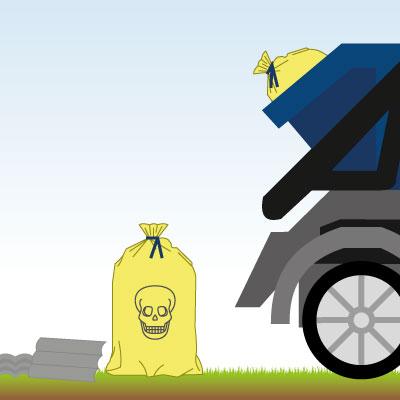 Asbestbelastete Baustoffe richtig entsorgen