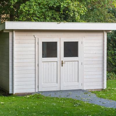 Gartenhaus Fundament richtig planen