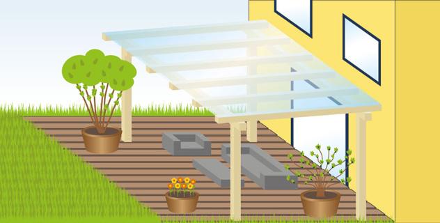 wpc oder holz terrassendielen. Black Bedroom Furniture Sets. Home Design Ideas