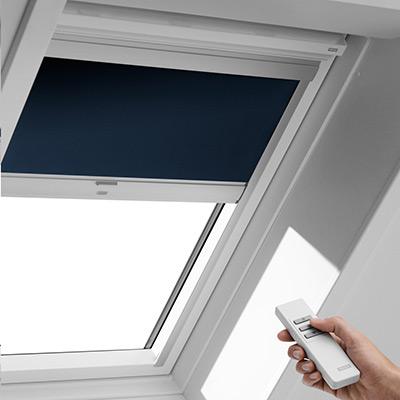 Sonnenschutz für Dachfenster mit Dachfensterrollos