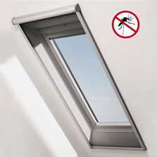 Insektenschutzrollo für Dachfenster