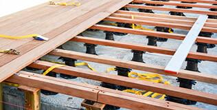 BENZ PROFESSIONAL Terrassen Unterkonstruktion