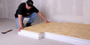 isobouw dachbodend mmung verbundelement wls 035 aus styropor mit 12mm osb platte. Black Bedroom Furniture Sets. Home Design Ideas