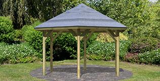 Karibu Holzpavillons