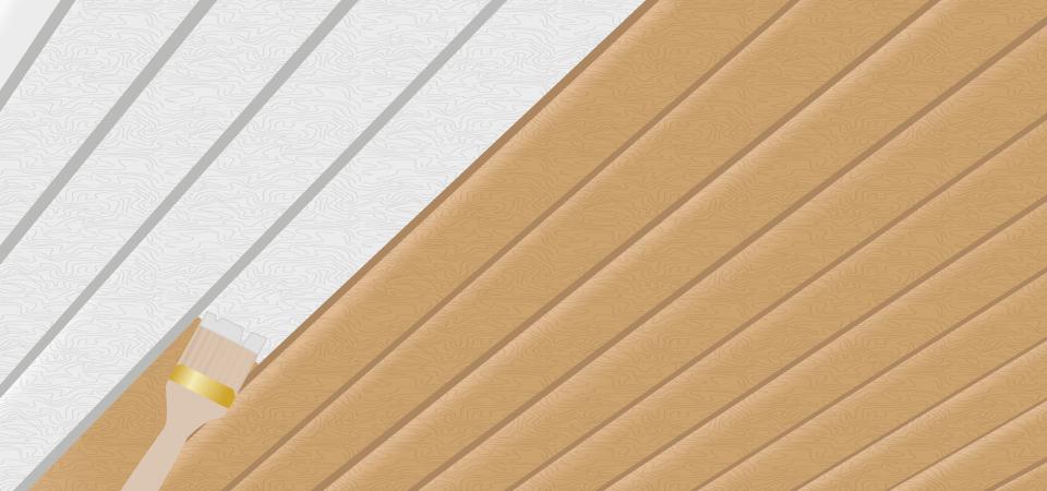 Holzpaneele Streichen Welche Farbe Zuhause