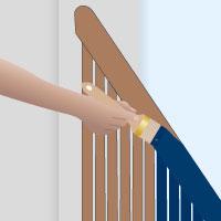 Treppengelander Streichen In Wenigen Schritten Realisiert